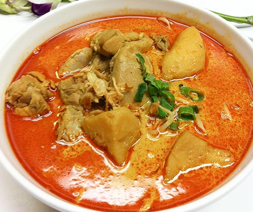 129. Curry Chicken Noodle