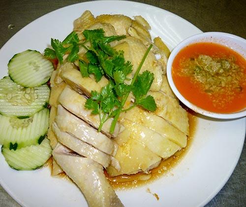 30. Hainanese Chicken (Half)