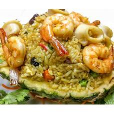 99. Pineapple Seafood Fried Rice