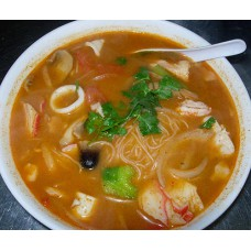 132. Seafood Tom Yum Noodle